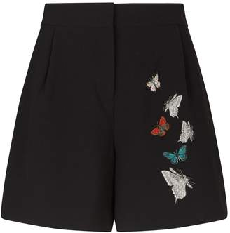 28c9dab60 Ted Baker Embroidered Syennaa Shorts