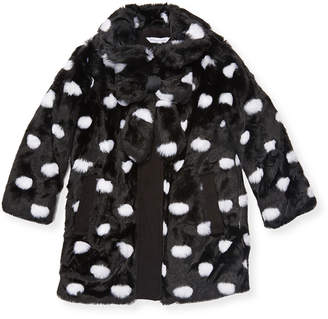 Little Marc Jacobs Dotted Bow Coat