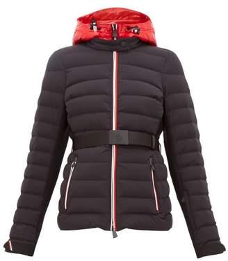 Moncler Bruche Belted Ski Jacket - Womens - Black