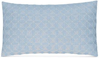 """Hotel Collection CLOSEOUT! Cornflower Linen 14"""" x 26"""" Decorative Pillow, Created for Macy's"""