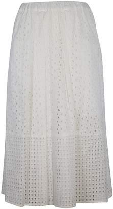 Blugirl Embroidered Full Skirt