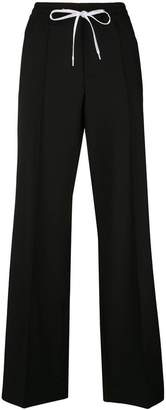 Miu Miu wide leg tracksuit bottoms