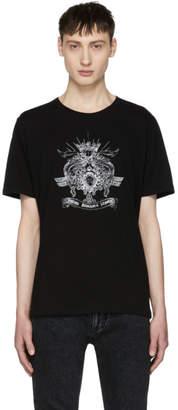 Saint Laurent Black Logo Graphic T-Shirt