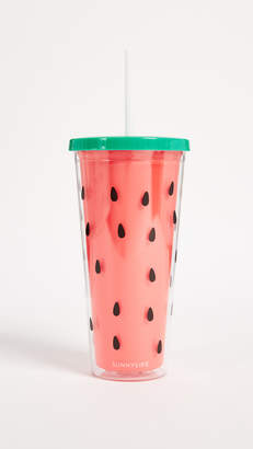 Sunnylife Watermelon Tumbler