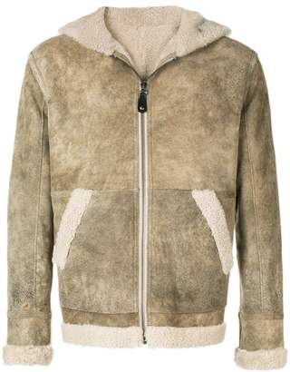 Yves Salomon Army reversible merinillo shearling jacket