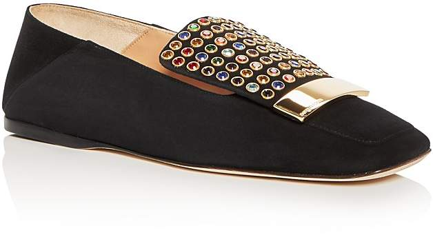 Sergio Rossi Sergio Rossi Crystal Embellished Flats