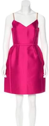 Lanvin Satin Mini Dress