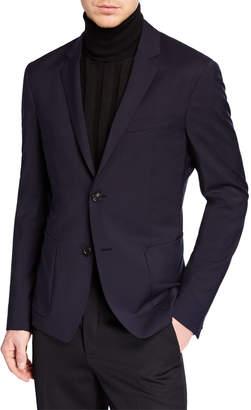 Prada Men's Poplin Wool Sport Jacket
