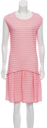 Chanel Jacquard Knee-Length Dress