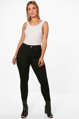 boohoo Plus Stretch Skinny Jean