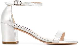 Stuart Weitzman Simple metallic sandals