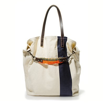 Racer tote