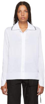 MM6 MAISON MARGIELA White Long Sleeve Polo