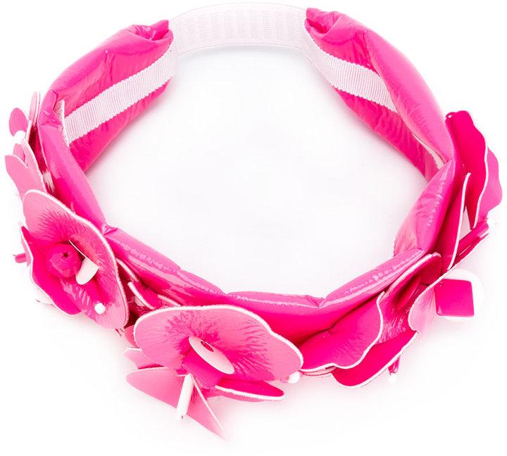 Miu MiuMiu Miu floral embellished headband