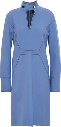 Piazza Sempione Cutout Wool-blend Crepe Dress