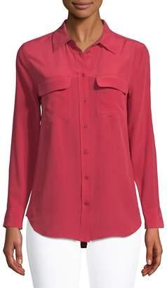 Equipment Women's Slim Signature Silk Shirt
