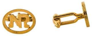 Nina Ricci Logo Cufflinks