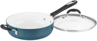 Cuisinart Aluminum 5.5 QT Saute Dark Blue w/ Cover