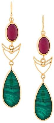 Katerina Makriyianni Long Drop earrings