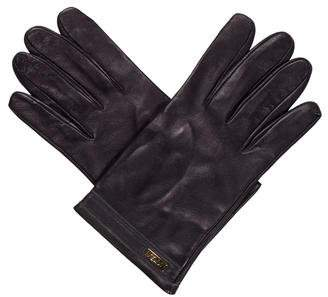 Fendi Leather Driving Gloves