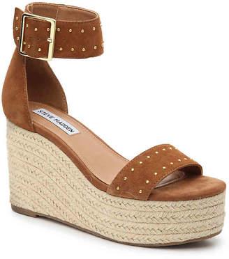 a385a30d76d4 Womens Cognac Wedge Shoes Steve Madden - ShopStyle