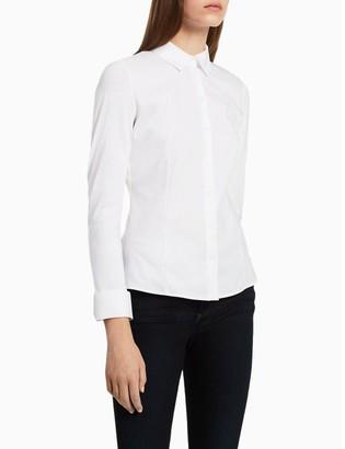 Calvin Klein cotton modal long sleeve shirt