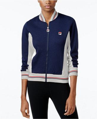 FILA Settanta Colorblocked Jacket $95 thestylecure.com