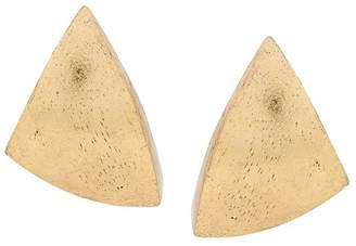 Monies painted oversized earrings