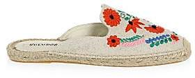 Soludos Women's Ibiza Embroidered Mules