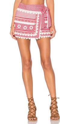 Dodo Bar Or Aviya Mini Skirt $288 thestylecure.com