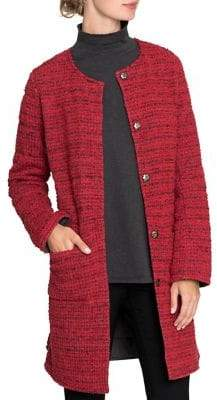 Nic+Zoe Textured Buttoned Jacket