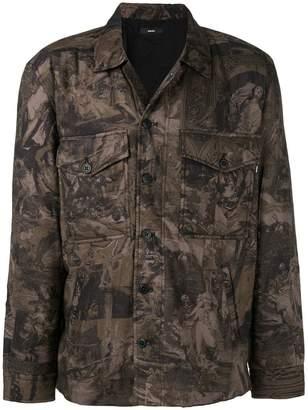 Diesel S-LATE-PADD-A jacket