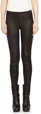 Rick Owens Solid Leather Leggings