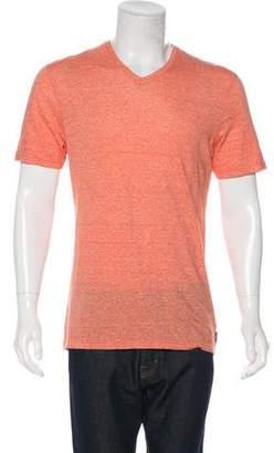 Michael Kors Linen-Blend T-Shirt w/ Tags