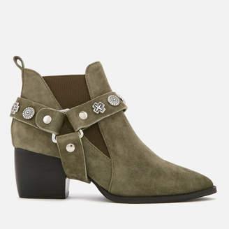 Sol Sana Women's Bruno Suede Western Heeled Boots