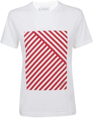 Calvin Klein Striped Print T-shirt