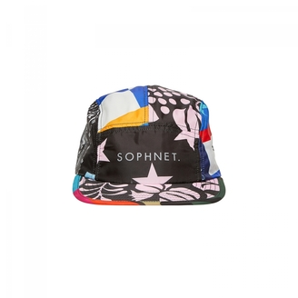 Sophnet. - 5 panel multi polyester cap