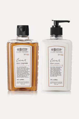 C.O. Bigelow Coconut Body Lotion And Cleanser Set - one size
