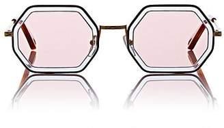 Chloé Women's Tally Small Sunglasses - 251-Havana Azur, Pink