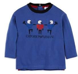 Armani Junior Boys' Football Logo Tee - Baby