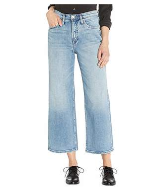 Silver Jeans Co. Go Wide High-Rise Wide Leg Crop Jeans in Indigo L28911SCP242