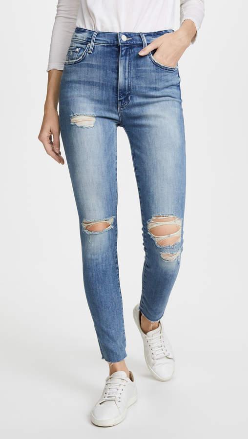 Swooner Ankle Fray Jeans