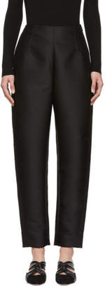 Totême Black Satin Elda Trousers