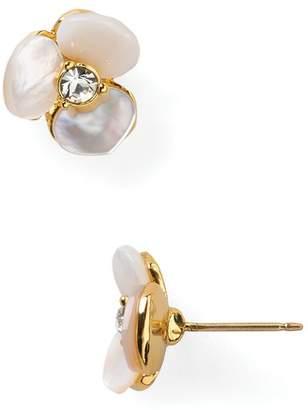 Kate Spade Pansy Stud Earrings