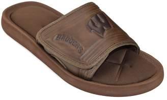 NCAA Kohl's Adult Wisconsin Badgers Memory Foam Slide Sandals