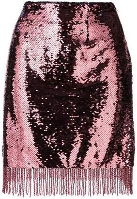 Vivetta scaly sequin short skirt
