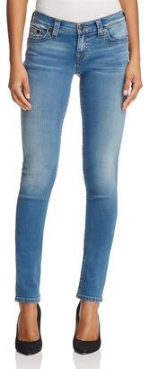 True Religion Stella Skinny Jeans in Authentic Indigo