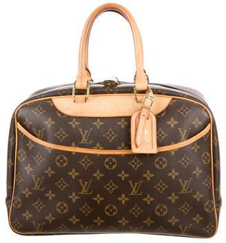Louis Vuitton Monogram Deauville Bag $595 thestylecure.com