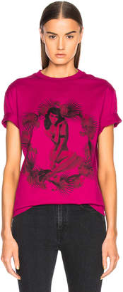 Givenchy Pin Up Printed Graphic Tee