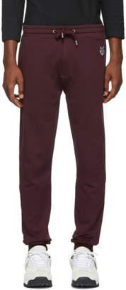 Kenzo Burgundy Tiger Crest Lounge Pants